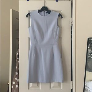 French connection light blue mini dress